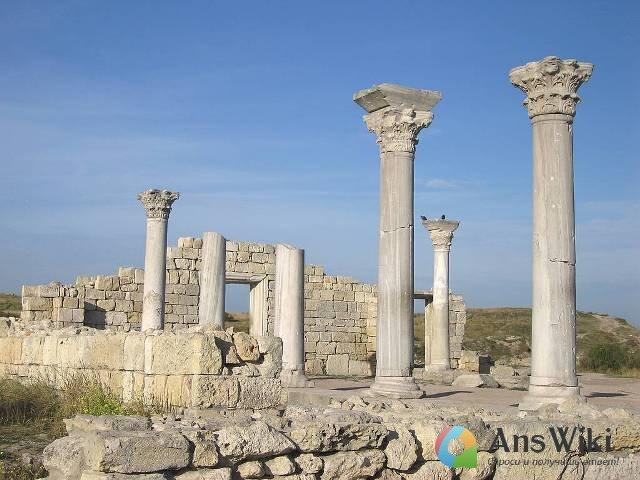 руины Херсонес